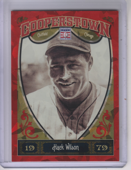 2013 Panini Cooperstown Red Crystal #23 Hack Wilson