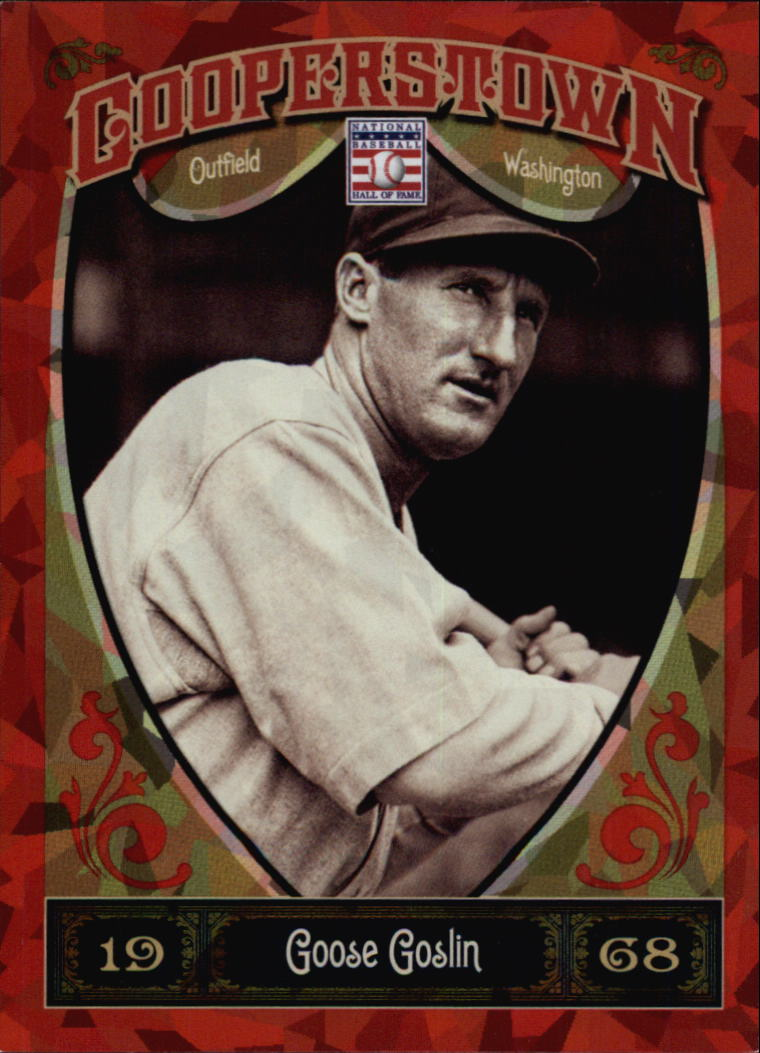 2013 Panini Cooperstown Red Crystal #24 Goose Goslin
