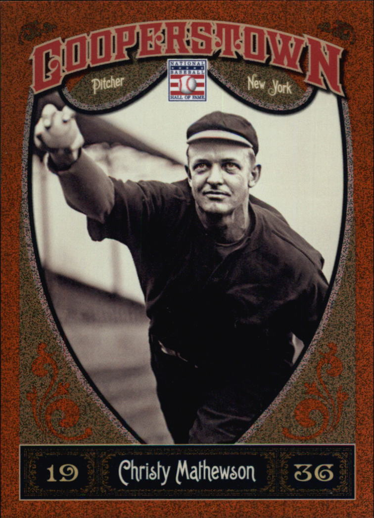 2013 Panini Cooperstown Orange #4 Christy Mathewson