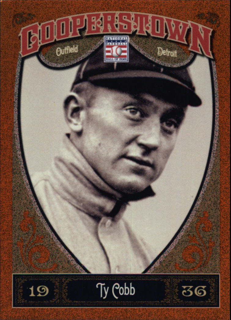 2013 Panini Cooperstown Orange #5 Ty Cobb