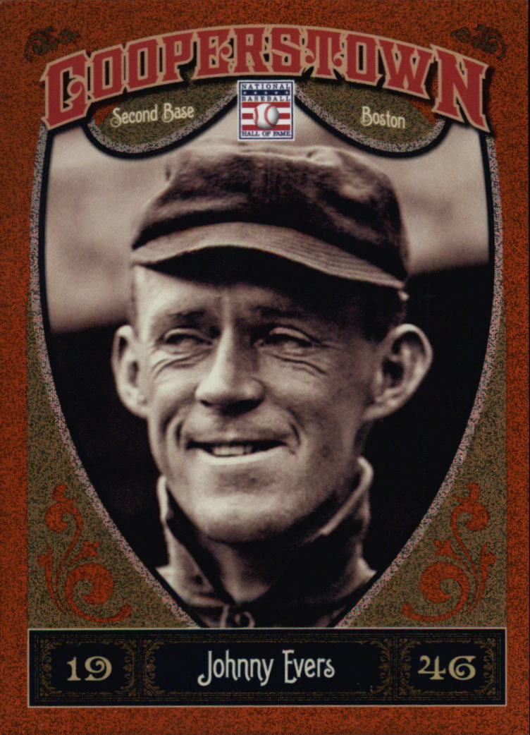 2013 Panini Cooperstown Orange #9 Johnny Evers