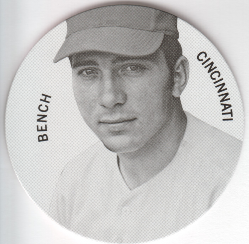 2013 Panini Cooperstown Colgan's Chips #9 Johnny Bench