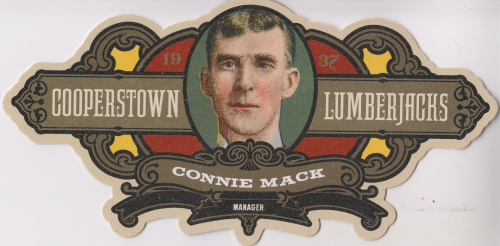 2013 Panini Cooperstown Lumberjacks Die Cut #18 Connie Mack
