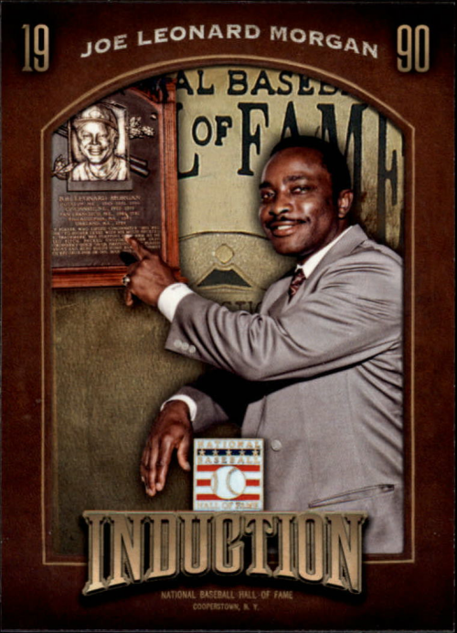 2013 Panini Cooperstown Induction #2 Joe Morgan