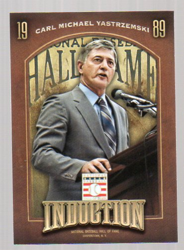 2013 Panini Cooperstown Induction #7 Carl Yastrzemski