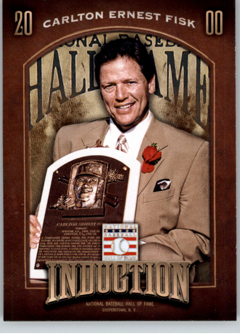 2013 Panini Cooperstown Induction #16 Carlton Fisk