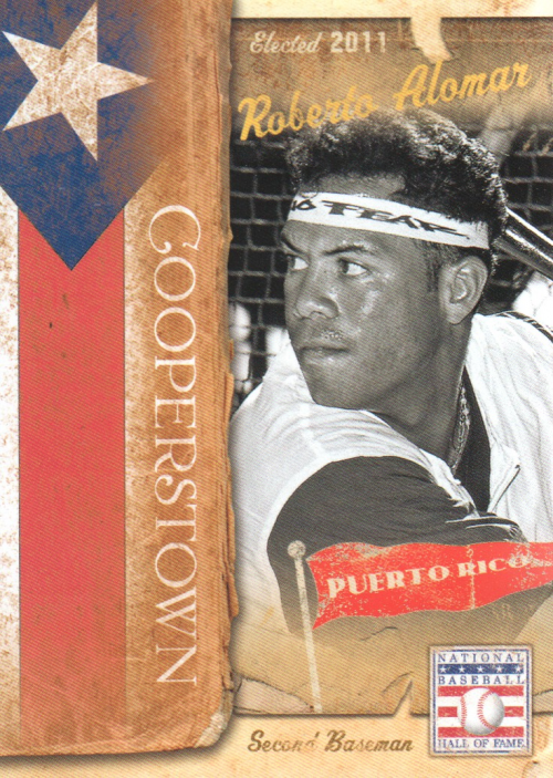 2013 Panini Cooperstown International Play #4 Roberto Alomar
