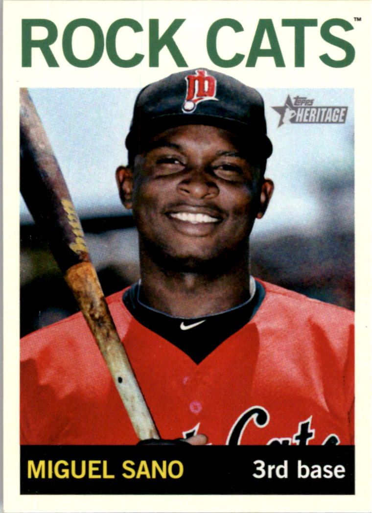 2013 Topps Heritage Minors #1A Miguel Sano