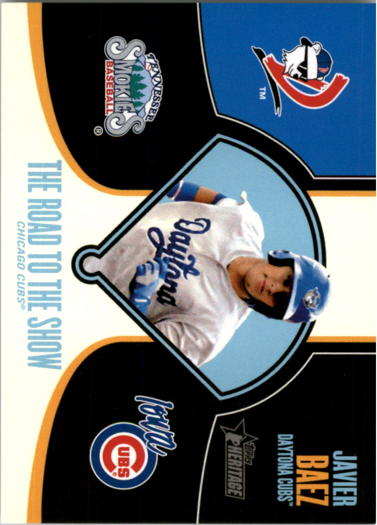 2013 Topps Heritage Minors Road to the Show #JBA Javier Baez