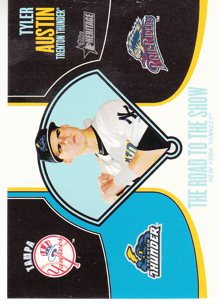 2013 Topps Heritage Minors Road to the Show #TA Tyler Austin