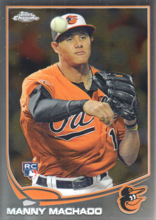 2013 Topps Chrome #12 Manny Machado RC