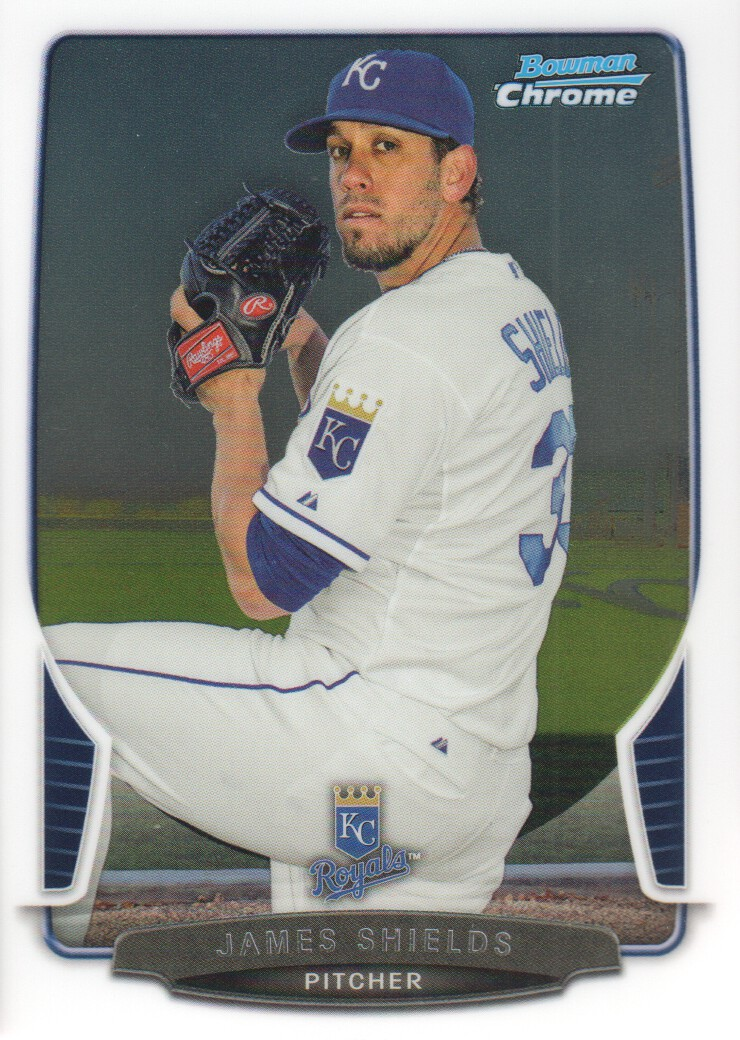 2013 Bowman Chrome #109 James Shields
