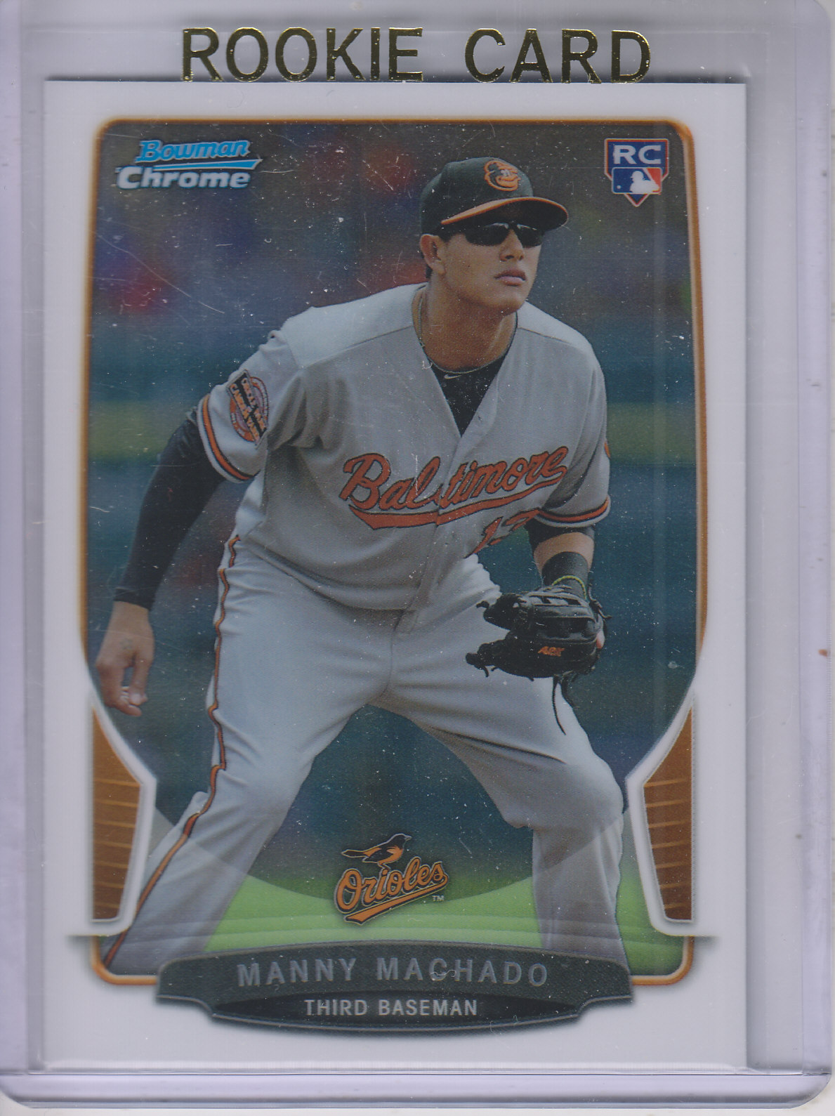 2013 Bowman Chrome #205 Manny Machado RC