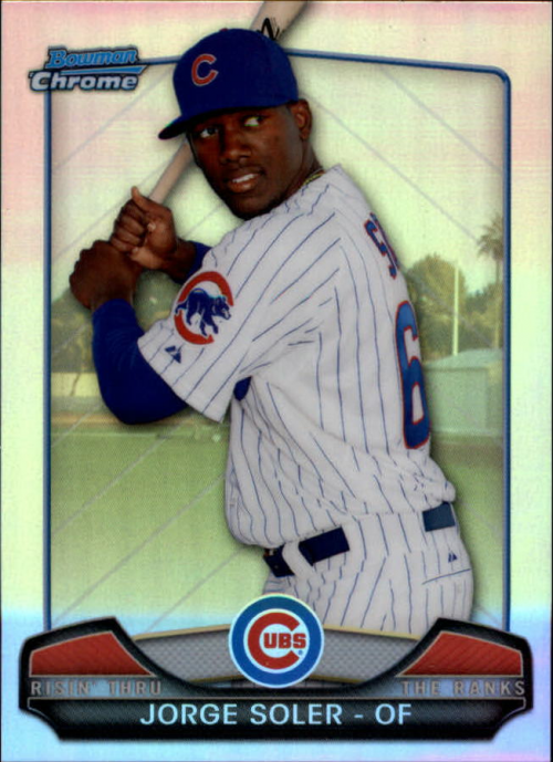 2013 Bowman Chrome Rising Through the Ranks Mini #JS Jorge Soler