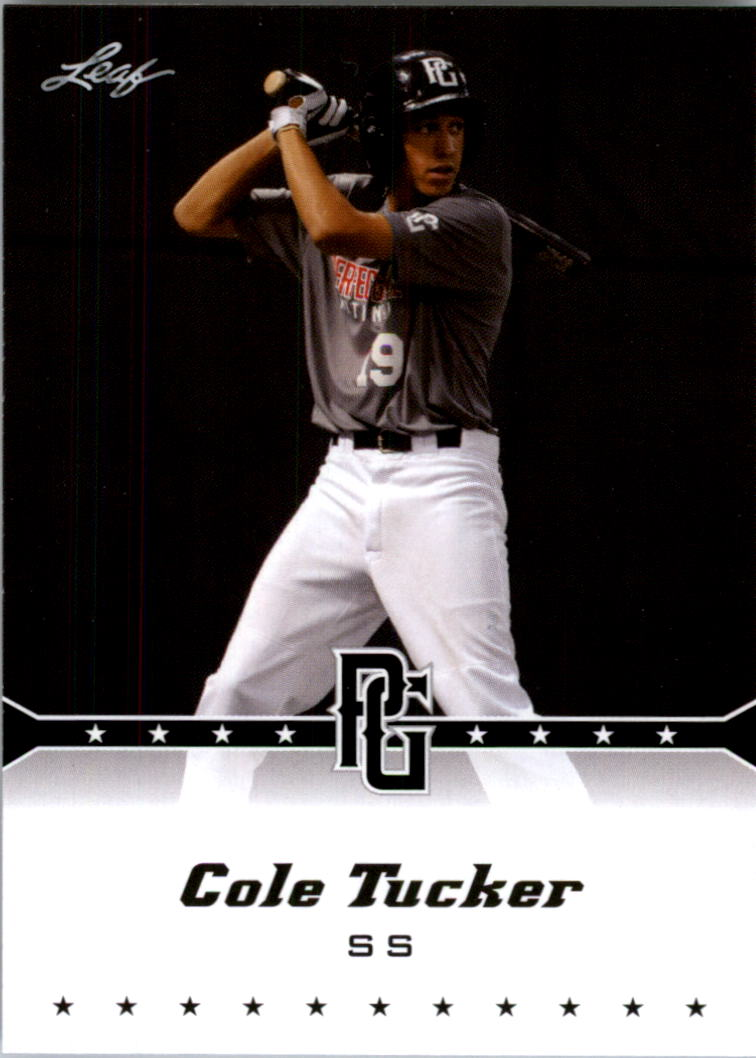 2013 Leaf Perfect Game #57 Cole Tucker