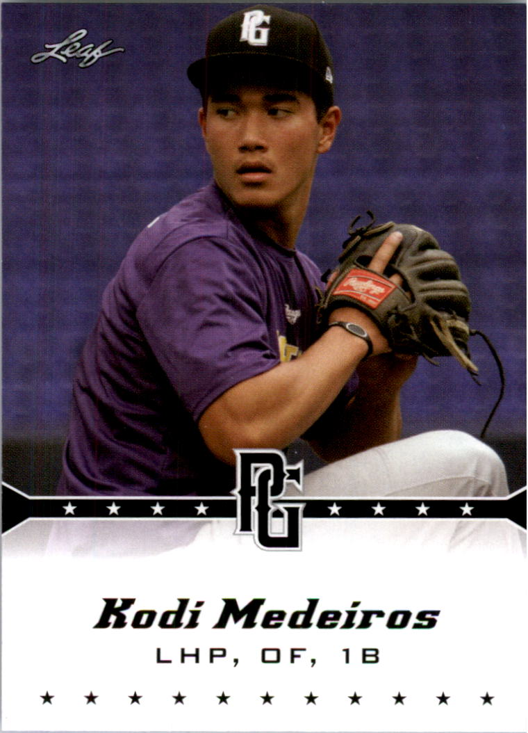 2013 Leaf Perfect Game #107 Kodi Medeiros
