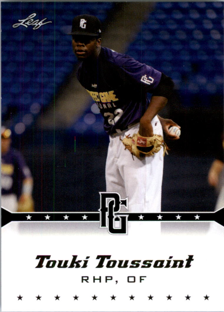 2013 Leaf Perfect Game #189 Touki Toussaint