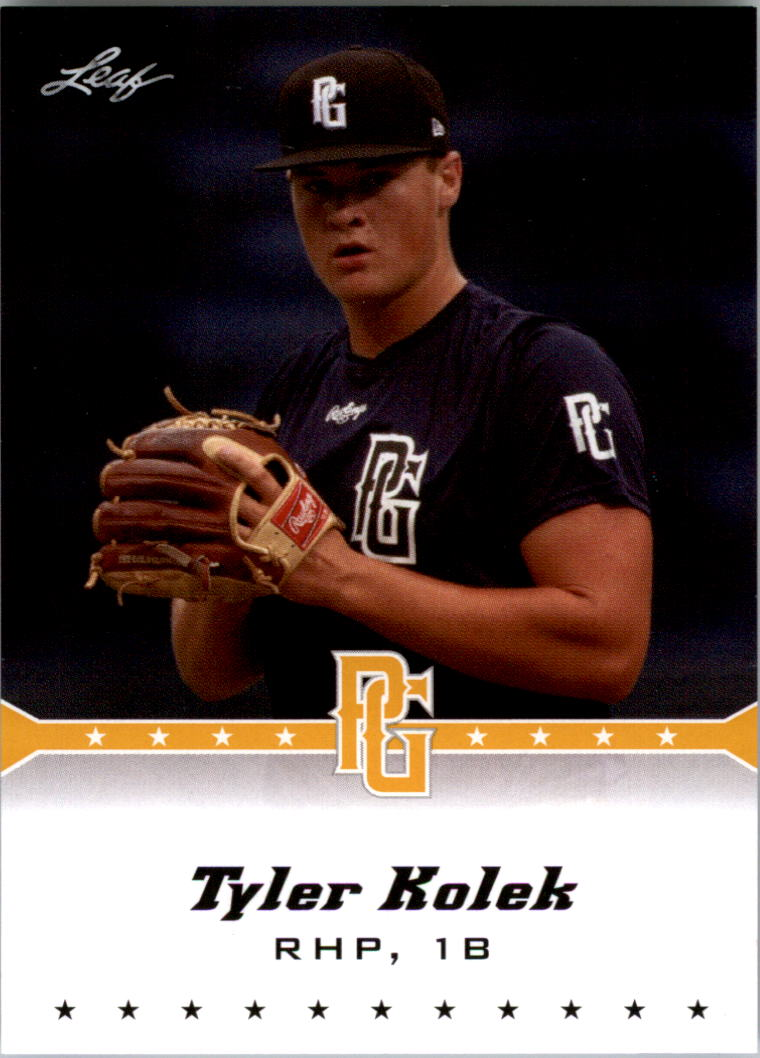 2013 Leaf Perfect Game Gold #295 Tyler Kolek