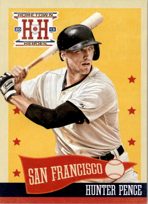 2013 Hometown Heroes #9 Hunter Pence