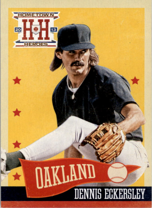 2013 Hometown Heroes #16 Dennis Eckersley