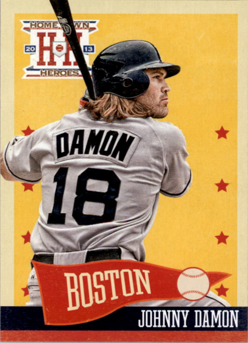 2013 Hometown Heroes #25 Johnny Damon