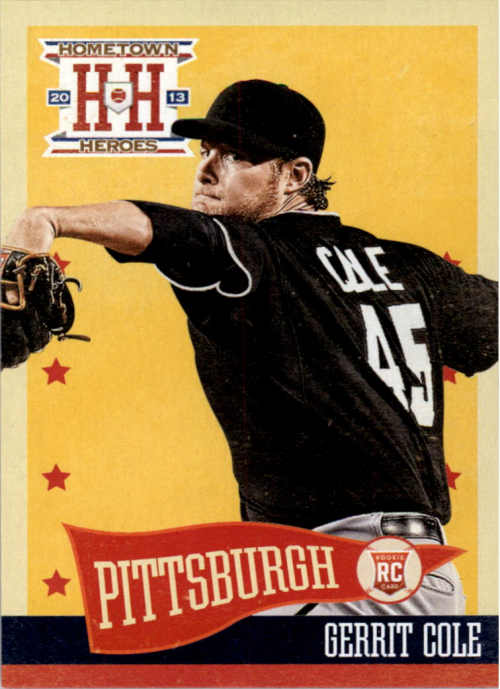 2013 Hometown Heroes #137 Gerrit Cole RC