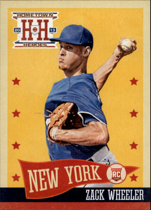2013 Hometown Heroes #177 Zack Wheeler RC