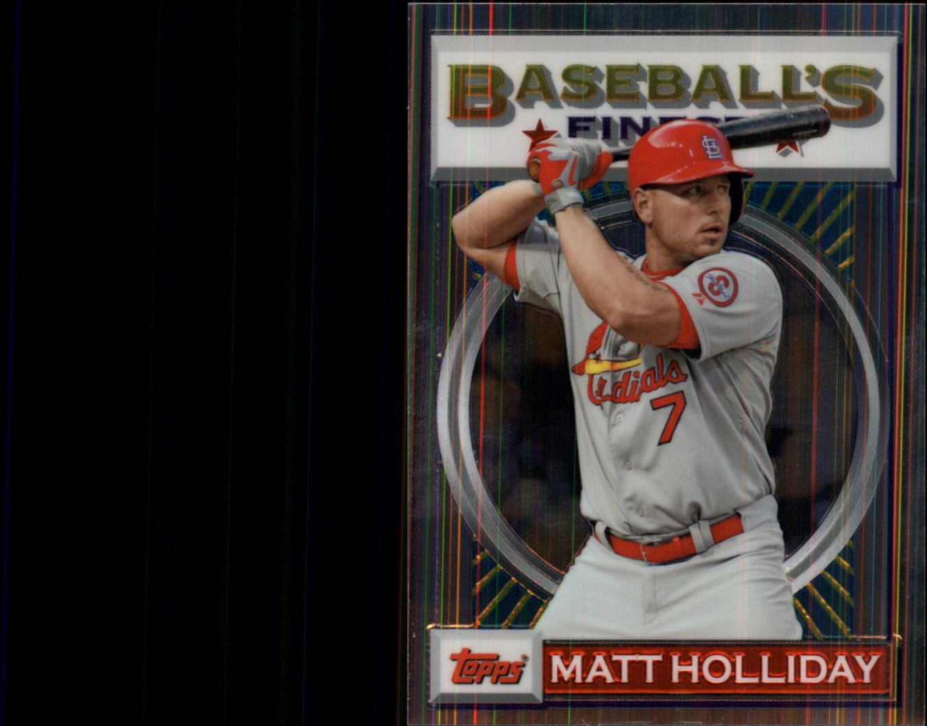 2013 Finest 93 Finest #MH Matt Holliday
