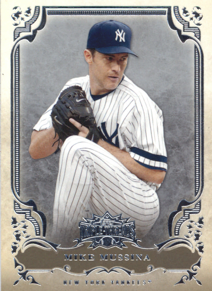2013 Topps Triple Threads #2 Mike Mussina