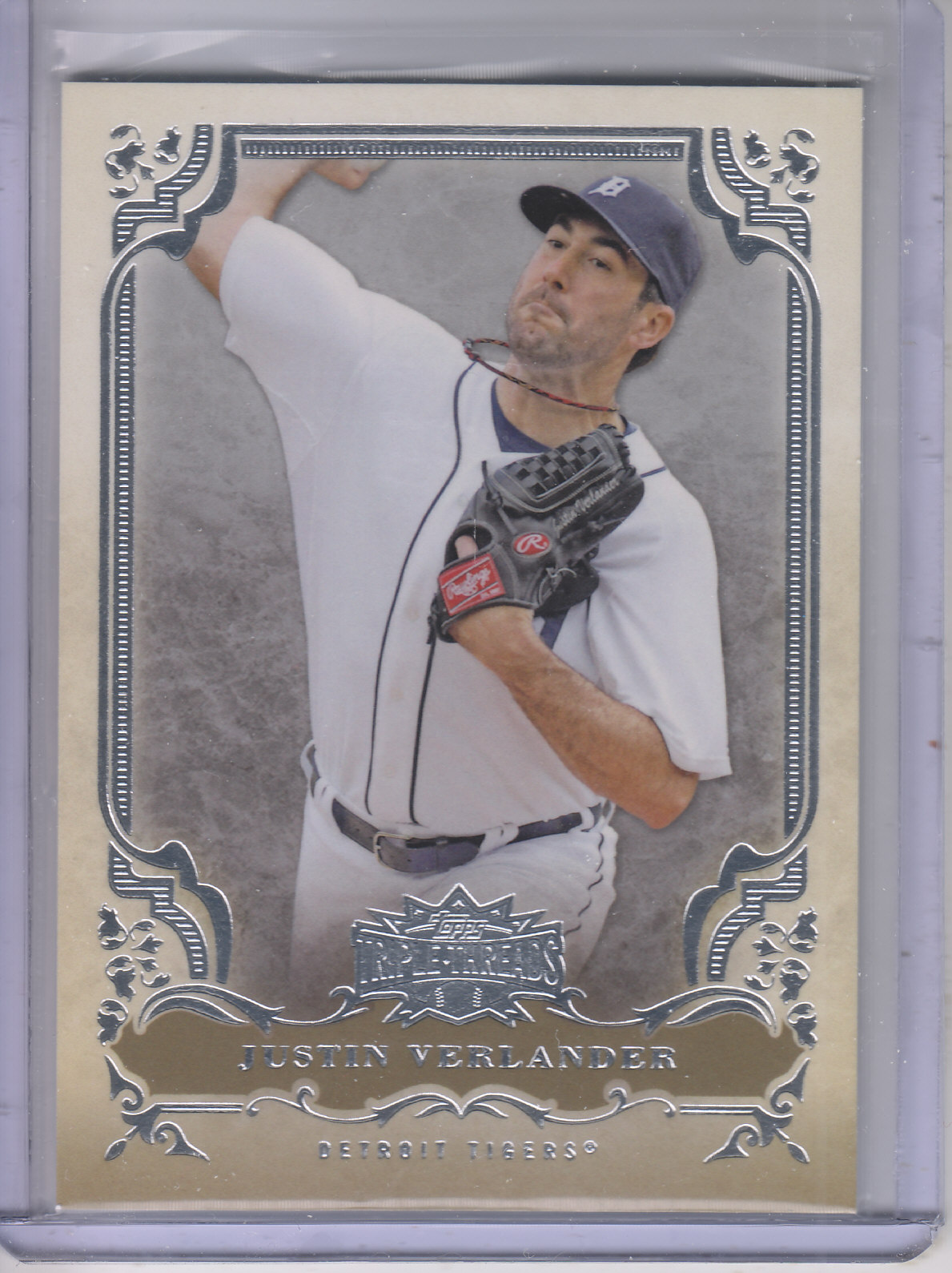 2013 Topps Triple Threads #6 Justin Verlander