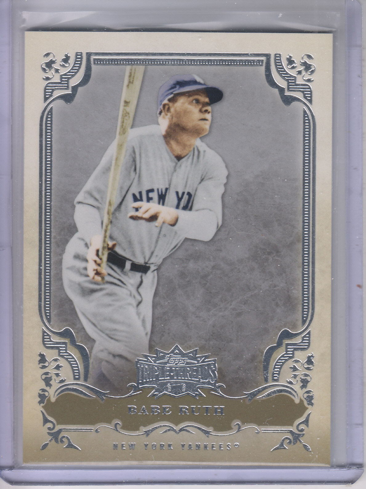 2013 Topps Triple Threads #10 Babe Ruth