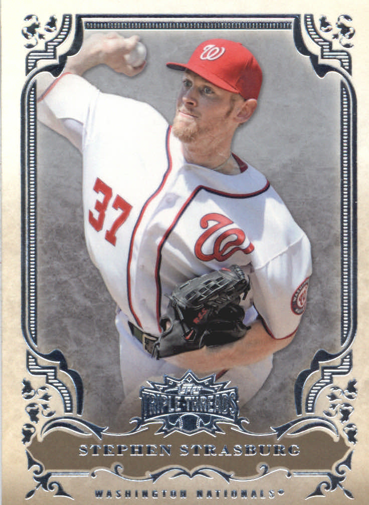 2013 Topps Triple Threads #13 Stephen Strasburg