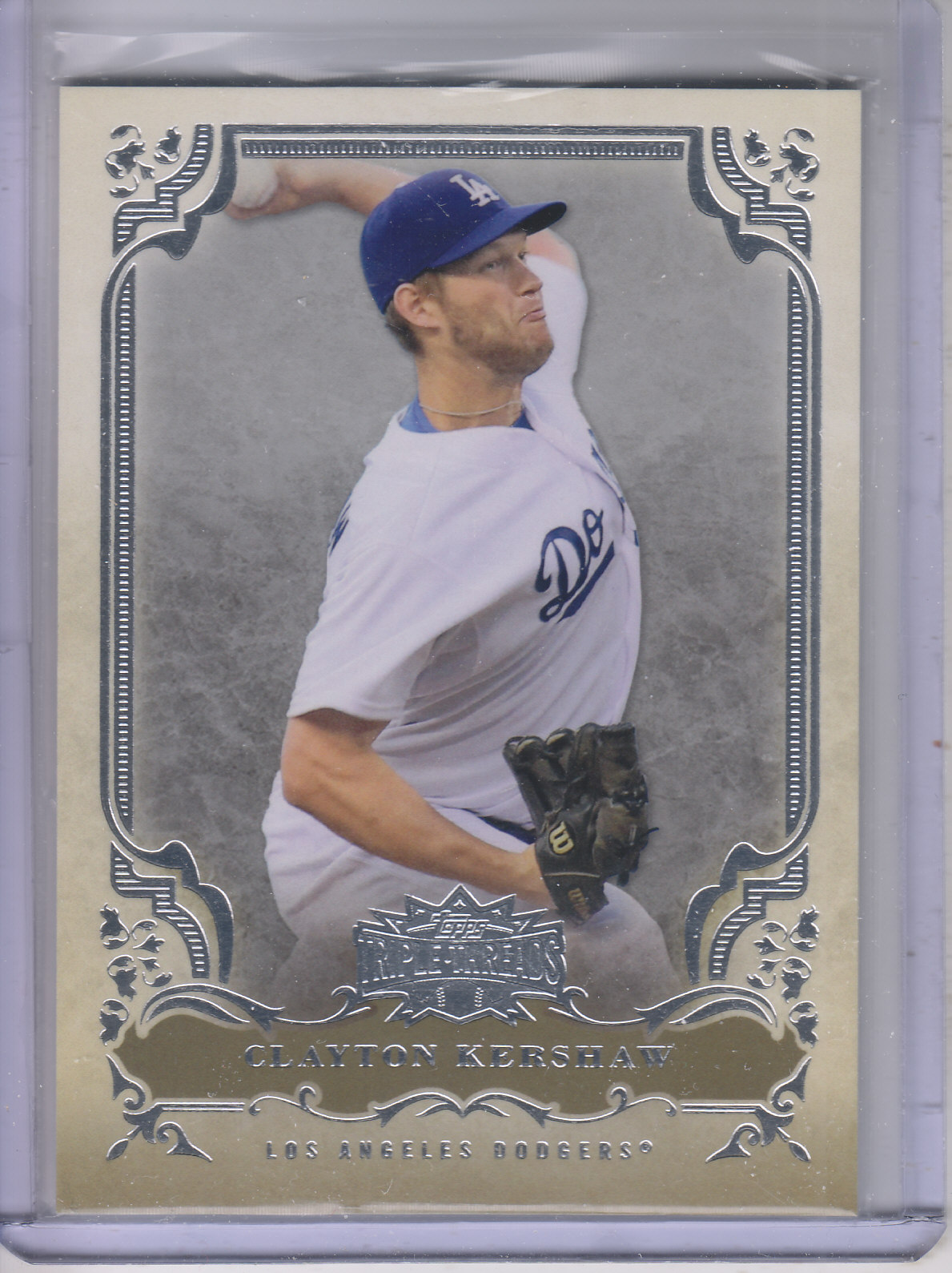 2013 Topps Triple Threads #16 Clayton Kershaw
