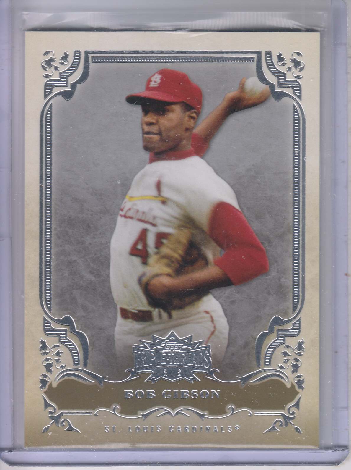 2013 Topps Triple Threads #17 Bob Gibson