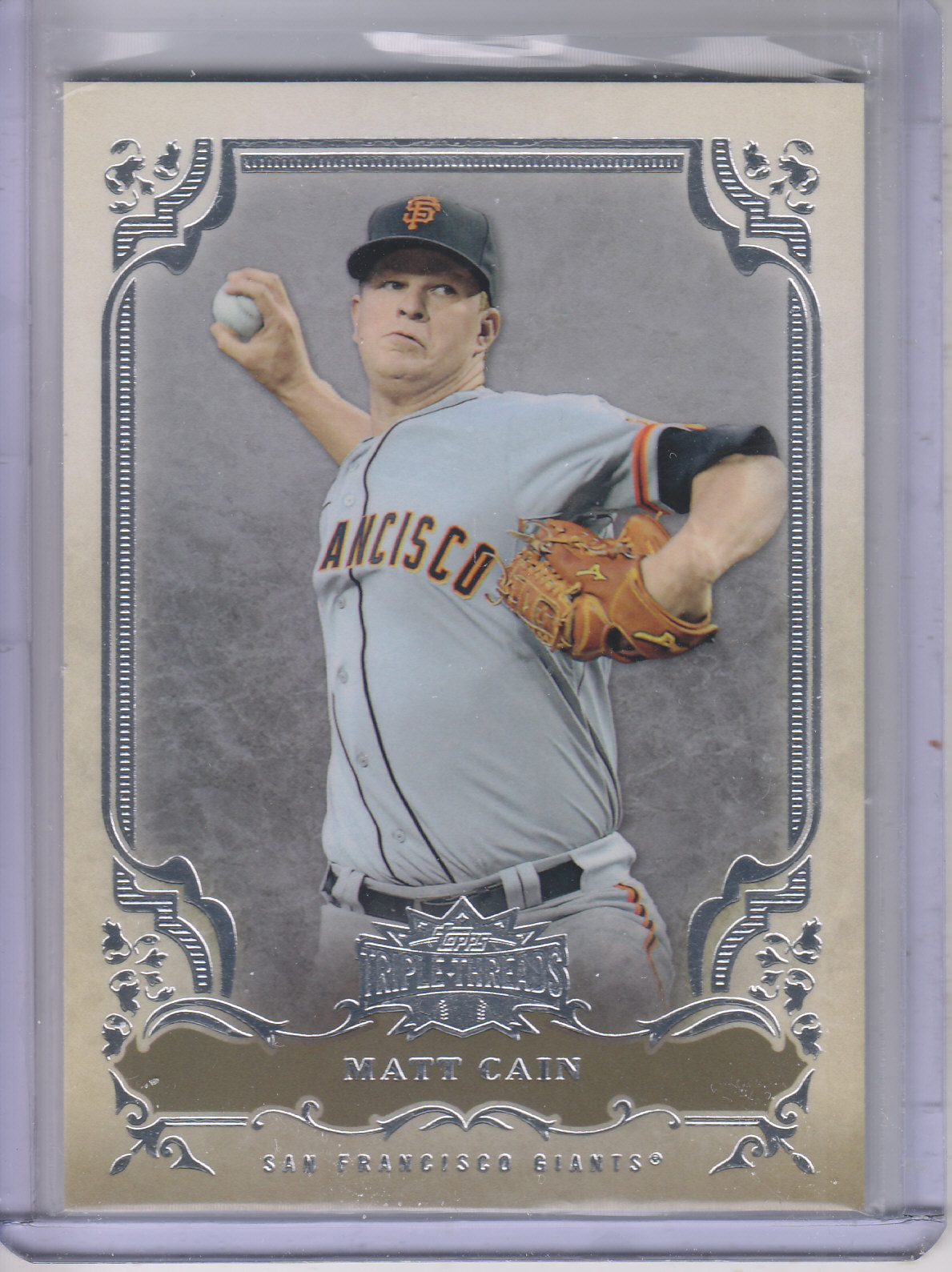 2013 Topps Triple Threads #20 Matt Cain