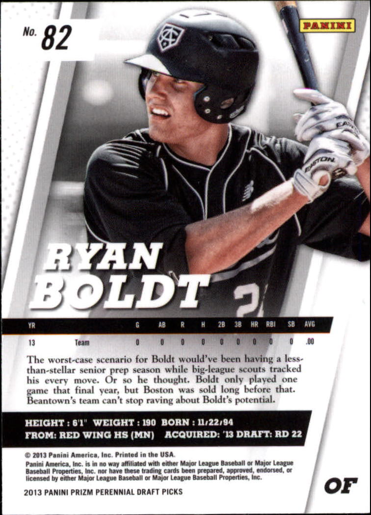 2013 Panini Prizm Perennial Draft Picks #82 Ryan Boldt