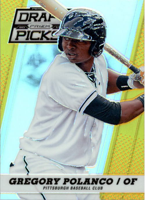 2013 Panini Prizm Perennial Draft Picks Gold Prizms #26 Gregory Polanco