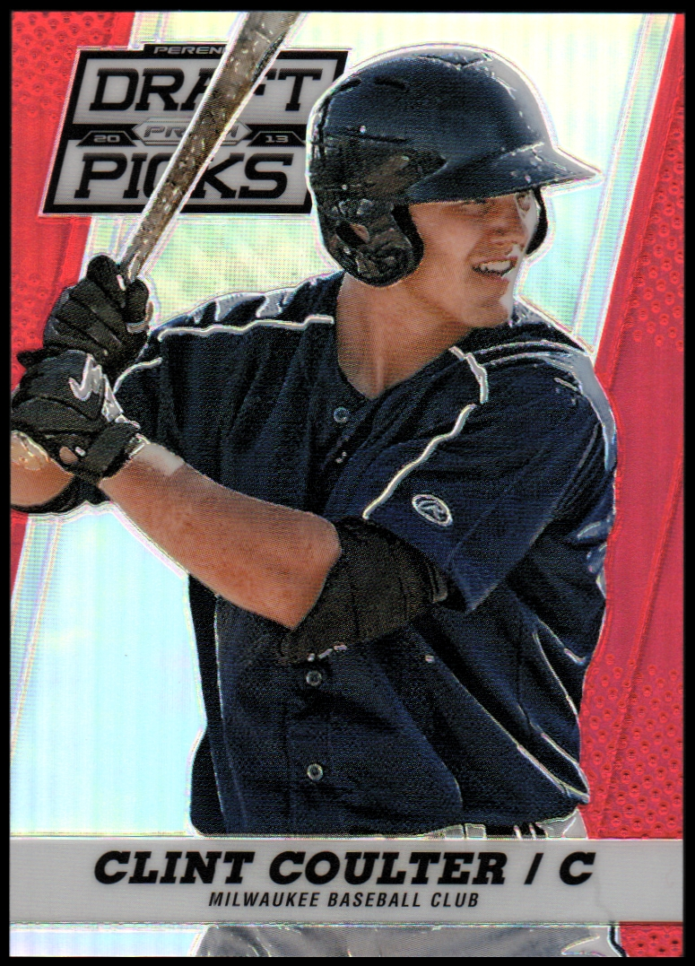 2013 Panini Prizm Perennial Draft Picks Red Prizms #14 Clint Coulter