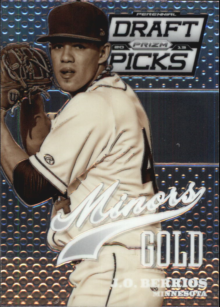 2013 Panini Prizm Perennial Draft Picks Minors #11 J.O. Berrios