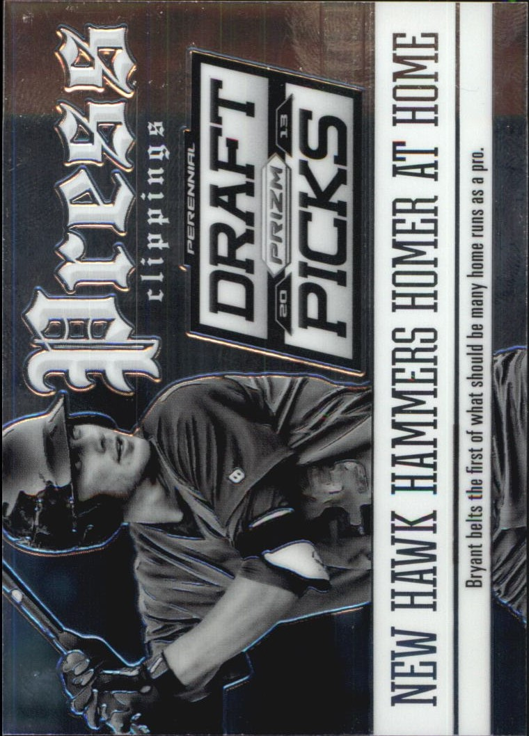 2013 Panini Prizm Perennial Draft Picks Press Clippings #6 Kris Bryant