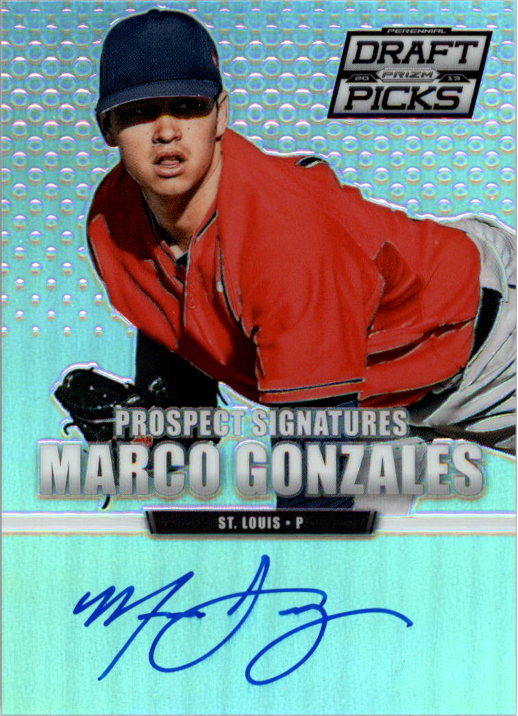 2013 Panini Prizm Perennial Draft Picks Prospect Signatures Prizms #20 Marco Gonzales