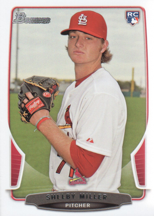 2013 Bowman Draft #32 Shelby Miller RC
