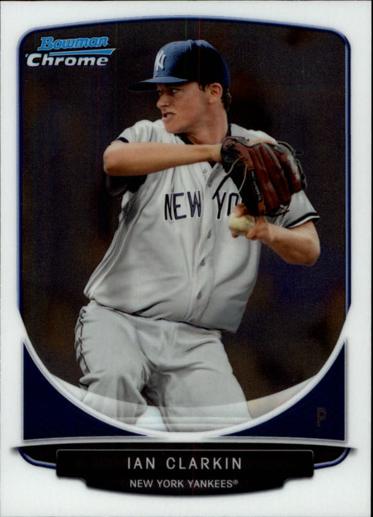 2013 Bowman Chrome Draft Draft Picks #BDPP21 Ian Clarkin