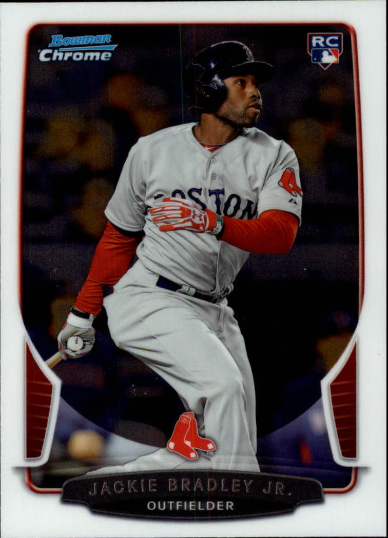 2013 Bowman Chrome Draft #43 Jackie Bradley Jr. RC