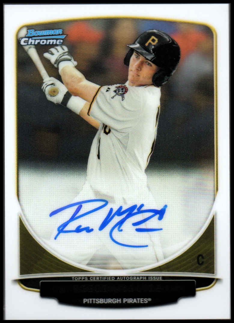 2013 Bowman Chrome Draft Draft Pick Autographs #RM Reese McGuire
