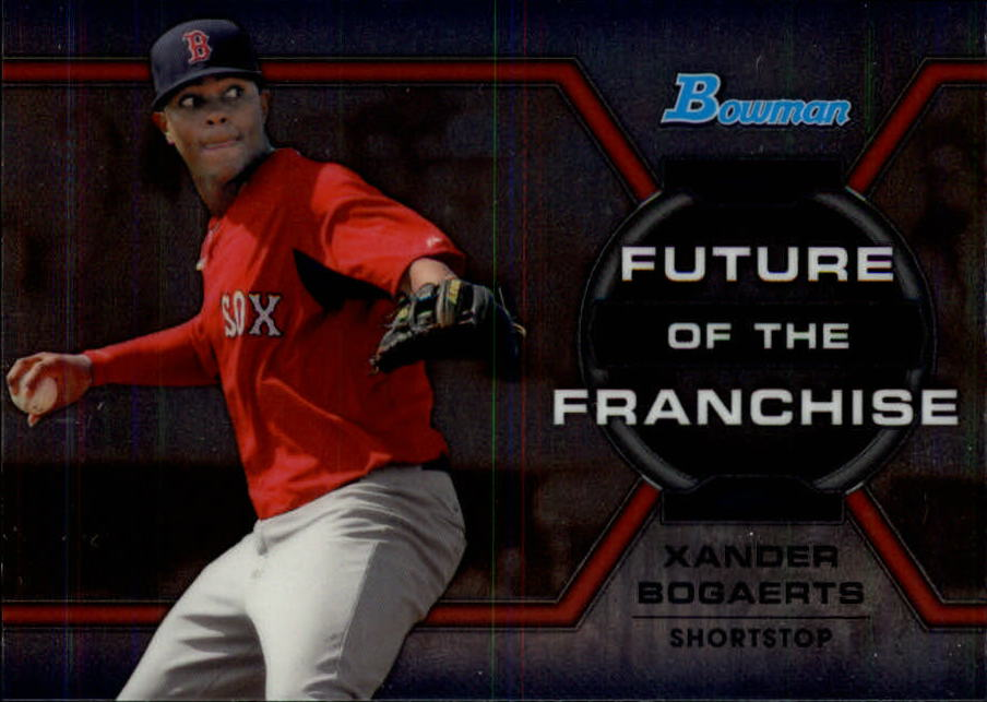 2013 Bowman Draft Future of the Franchise #XB Xander Bogaerts