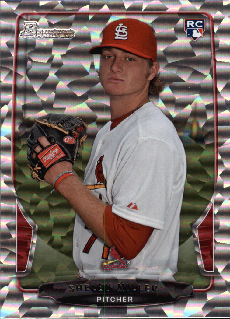 2013 Bowman Draft Silver Ice #32 Shelby Miller