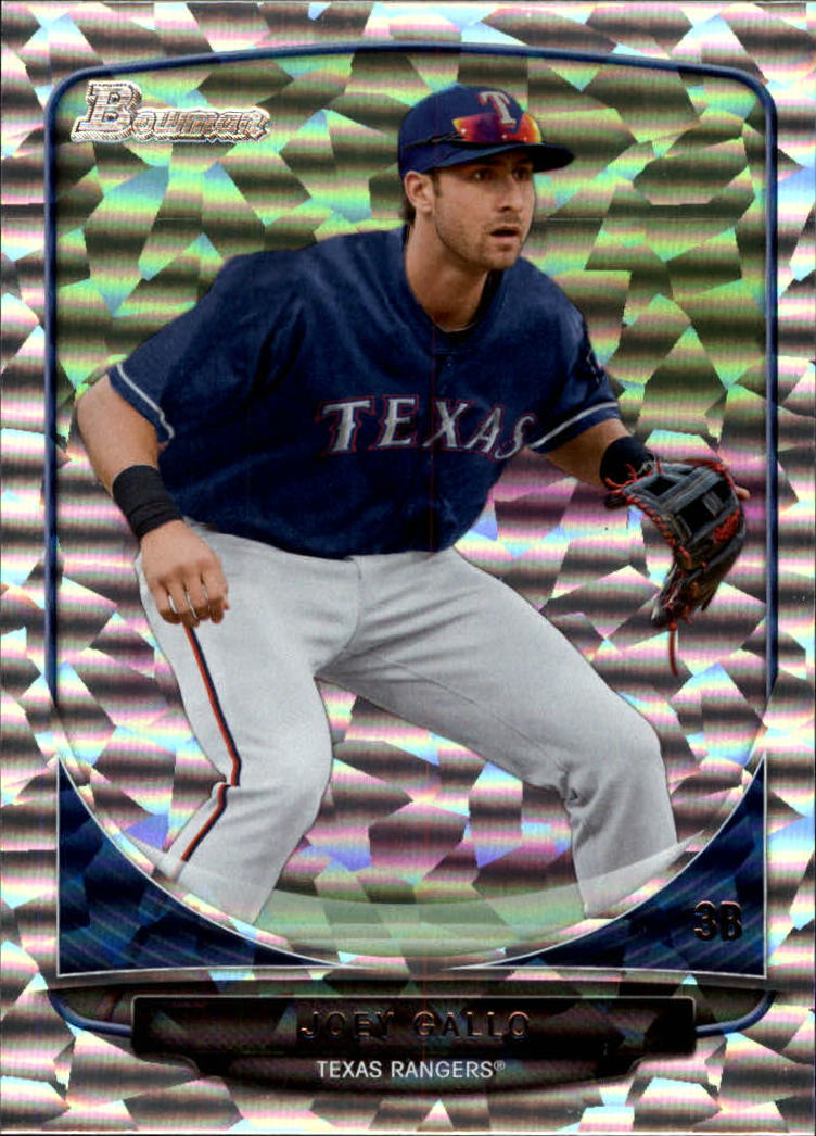 2013 Bowman Draft Top Prospects Silver Ice #TP5 Joey Gallo