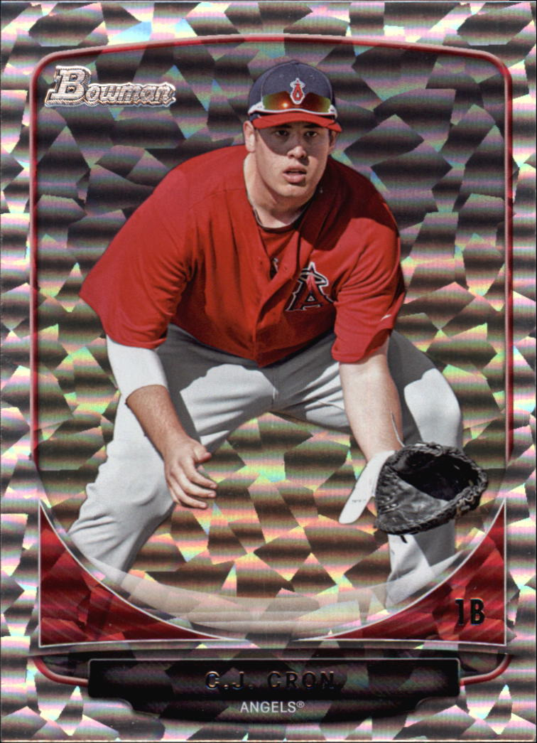 2013 Bowman Draft Top Prospects Silver Ice #TP24 C.J. Cron