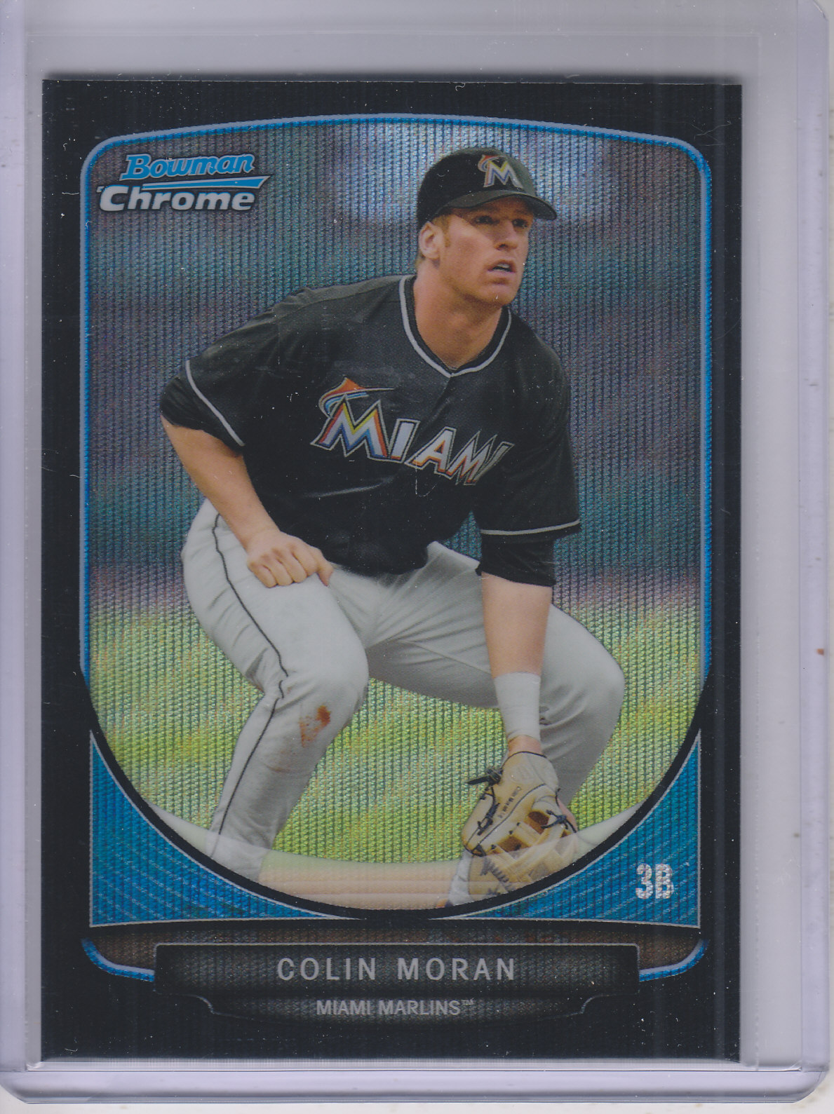 2013 Bowman Chrome Draft Draft Picks Black Wave Refractors #BDPP20 Colin Moran